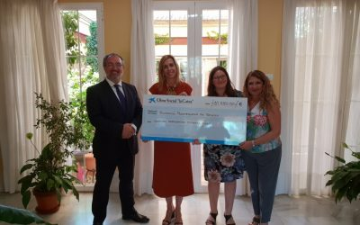 Donación de 10.600 € de la Obra Social La Caixa para la compra de una furgoneta adaptada