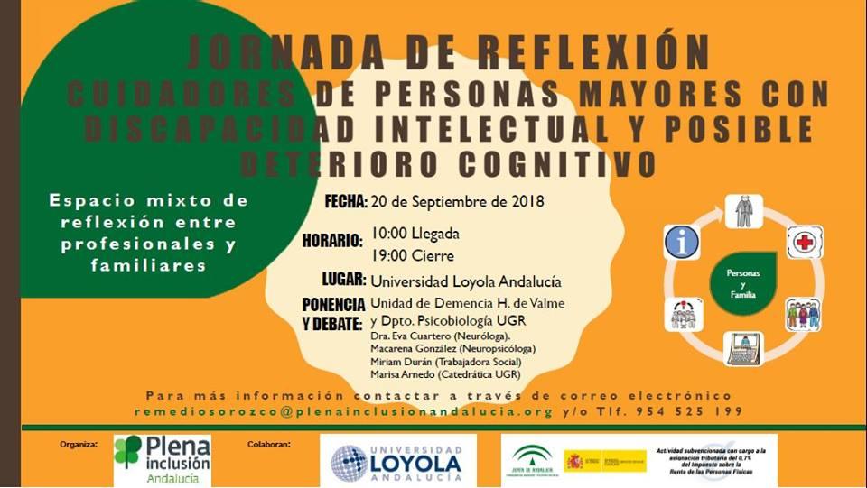 Jornadas para cuidadores de personas mayores con discapacidad intelectual