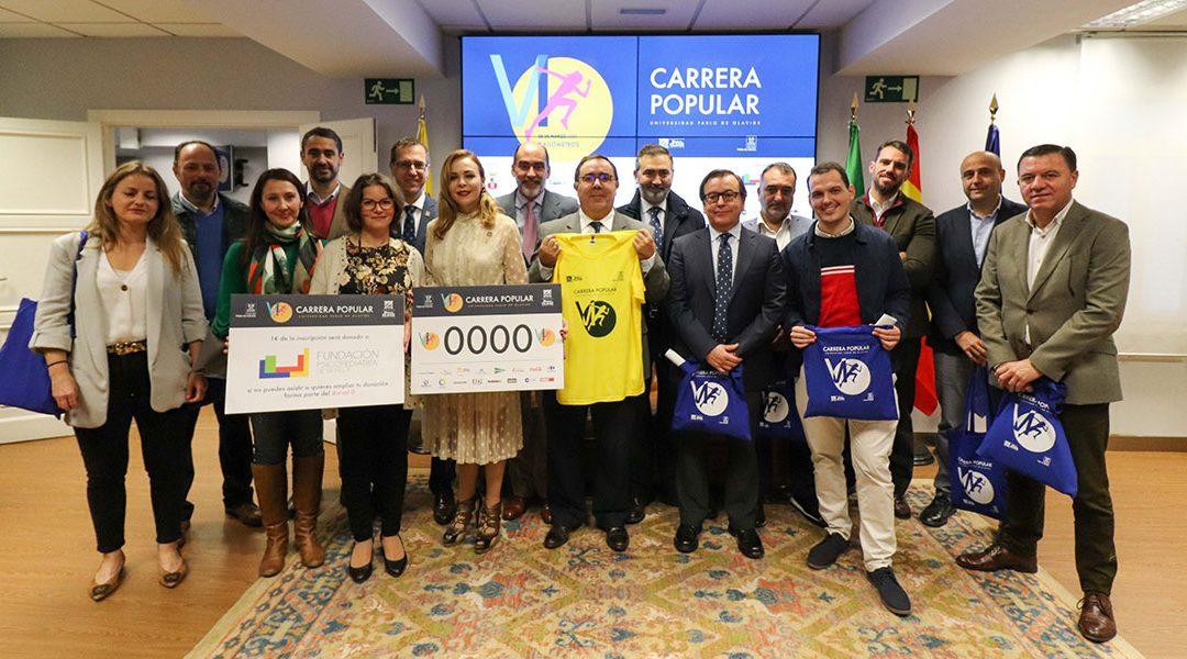 La Universidad Pablo de Olavide celebrará su VI Carrera Popular a beneficio de Fundación Psicopediatría de Sevilla