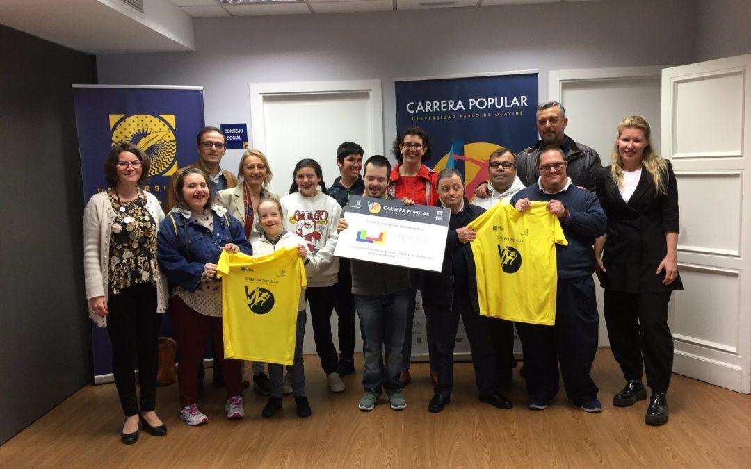 Entrevista en Canal Sur Noticias a nuestra Gerente con motivo de la VI Carrera Popular Universidad Pablo de Olavide