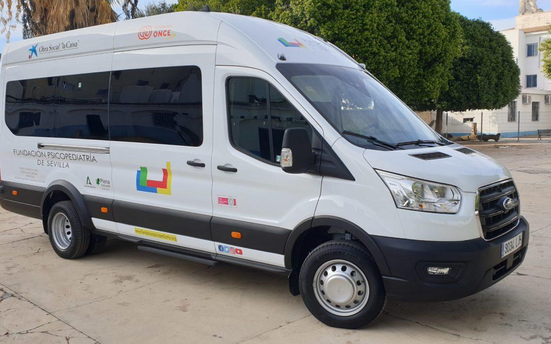 Nueva furgoneta de 18 plazas para el Servicio de Rutas