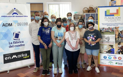 Fundación Psicopediatría firma un convenio de colaboración con Andaluza de Marqueteria